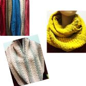 24 Units of Women's Assorted Color Scarves - Womens Fashion Scarves