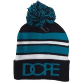 "24 Units of ""DOPE"" Printed Hats in Assorted Colors - Winter Beanie Hats"