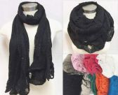 24 Units of Infinity Circle Knitted Scarves Dual Purpose - Winter Scarves