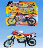 24 Units of Motorcycle set in blister - Cars, Planes, Trains & Bikes