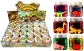 72 Units of Cadillac and Dinosaur assembly Crystal Mud Putty - Slime & Squishees