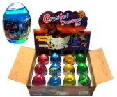 72 Units of Crystal Dinosour Egg Putty - Slime & Squishees
