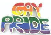 12 Units of Gay pride Rainbow Belt Buckle - Belt Buckles