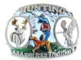 12 Units of Hunting American Tradition Belt Buckle - Belt Buckles