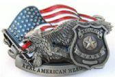12 Units of American Hero Security Guard Belt Buckle - Belt Buckles