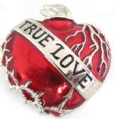 12 Units of True Love with a Heart Belt Buckle - Belt Buckles