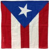 96 Units of Puerto Rico Flag Bandana - Bandanas