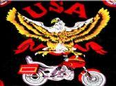 96 Units of USA Eagle Biker Bandana - Bandanas