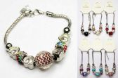 96 Units of Manual Bead Bracelet Assorted Colors And Styles - Bracelets