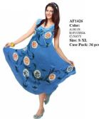 36 Units of Hand Painted Umbrella Dresses Assorted sized - Womens Sundresses & Fashion