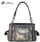 2 Units of Montana West Tooled Collection Satchel Bag - Handbags