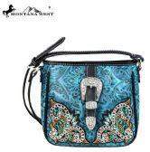 4 Units of Montana West Buckle Collection Crossbody - Handbags