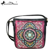 4 Units of Montana West Embroidered Collection Crossbody Bag - Handbags