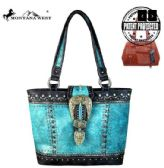 2 Units of Montana West Buckle Collection Concealed Carry Tote - Tote Bags & Slings