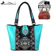 2 Units of Montana West Aztec Collection Concealed Carry Tote - Tote Bags & Slings