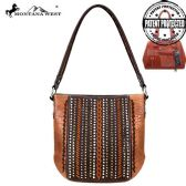 2 Units of Montana West Safari Collection Concealed Carry Hobo - Handbags