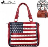 2 Units of Montana West American Pride Concealed Handgun Collection Handbag - Handbags