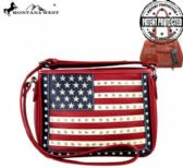 4 Units of Montana West American Pride Collection Messenger Bag - Handbags