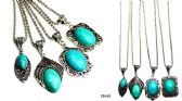 96 Units of Turquoise style necklace - Necklace