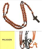 60 Units of MULTI ROSE BEAD ROSARY - Necklace