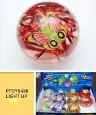 96 Units of Light Up Led Bouncy Ball - Balls