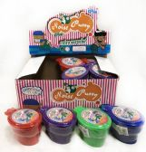96 Units of Toilet Bowl Fart Noise Putty Assorted Colors - Slime & Squishees