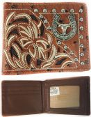 12 Units of Men Wallet Ostrich Pattern with Bull - Wallets & Handbags