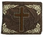 12 Units of Cross Dark Brown Bi Fold Wallet - Wallets & Handbags