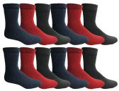 36 Units of Yacht And Smith Womens Warm Thermal Boot Socks - Womens Thermal Socks