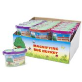 36 Units of Bug Bucket Magnifying - Summer Toys