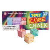 36 Units of 10 Piece Chalk Cubes - Chalk,Chalkboards,Crayons