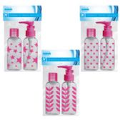 48 Units of Cosmetic Travel Bottles - Cosmetic Displays