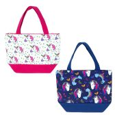 24 Units of Insulated Lunch Bag in 2 Assorted Unicorn Prints - Lunch Bags & Accessories