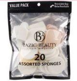 36 Units of Make-Up Blender Sponges Resealable bag 20 Piece count - Eye Shadow & Mascara