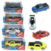 48 Units of 3D Light Race Remote Control Cars in 4 Assorted Styles - Cars, Planes, Trains & Bikes