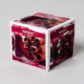 12 Units of Candle Scented Window Boxed Cinnamon Spice - Candles & Accessories