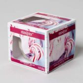 12 Units of Candle Scented Window Boxed Peppermint Cream - Candles & Accessories