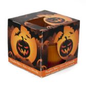 12 Units of Candle Scented Window Boxed Pumpkin Spice - Candles & Accessories