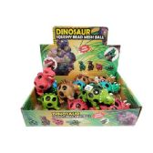 24 Units of SQUISHY DINOSAUR WITH RAINBOW BEADS - Slime & Squishees