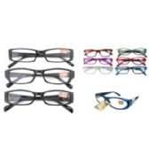 24 Units of ASSORTED COLORS AND POWER READERS - Reading Glasses
