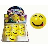 24 Units of EMOJI SQUISHY BEAD BALL - Slime & Squishees