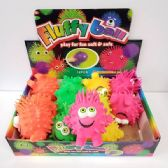 24 Units of PUFFER BALL LITTLE DUDE W/GOOGLY EYES - Slime & Squishees