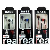 48 Units of Wholesale Classic Earbud Headphones in 3 Assorted Colors - Headphones and Earbuds