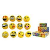 24 Units of FLASHING EMOJI BOUNCING BALLS - Balls
