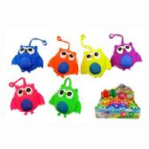 24 Units of FLASHING OWL PUFFER BALL - Slime & Squishees