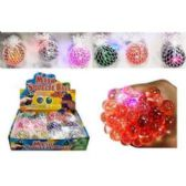 24 Units of LIGHT UP MESH BALL - Light Up Toys