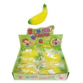 24 Units of SQUISHY BEAD BANANA - Slime & Squishees