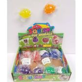 24 Units of SQUISHY BEAD GOLD FISH - Slime & Squishees
