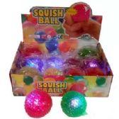24 Units of FLASHING BEAD BALL - Slime & Squishees