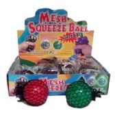 24 Units of MESH SOLID WATER BALL - Slime & Squishees